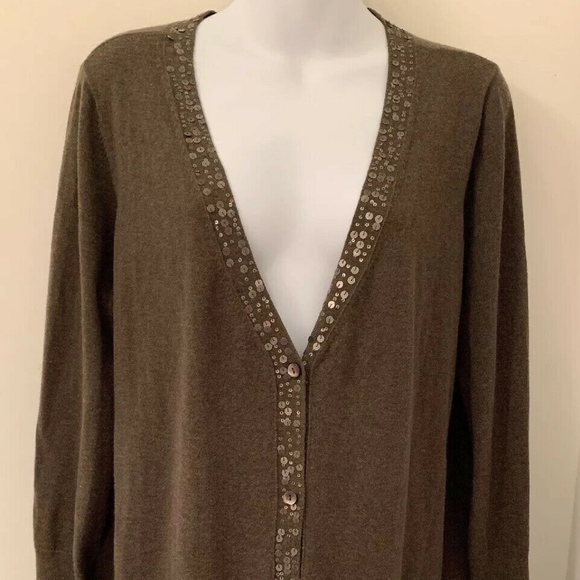 45ff272262fe6c Eileen Fisher cotton cashmere sequin long cardigan. Eileen Fisher.  M_5cad20e326219f362bc57a76. M_5cad20e32eb33f88a5acd75b.  M_5cad20e3b146cc827c529a19